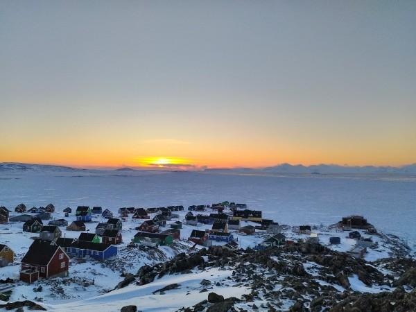 nuit-polaire, éphémérides, Scoresby-Sund